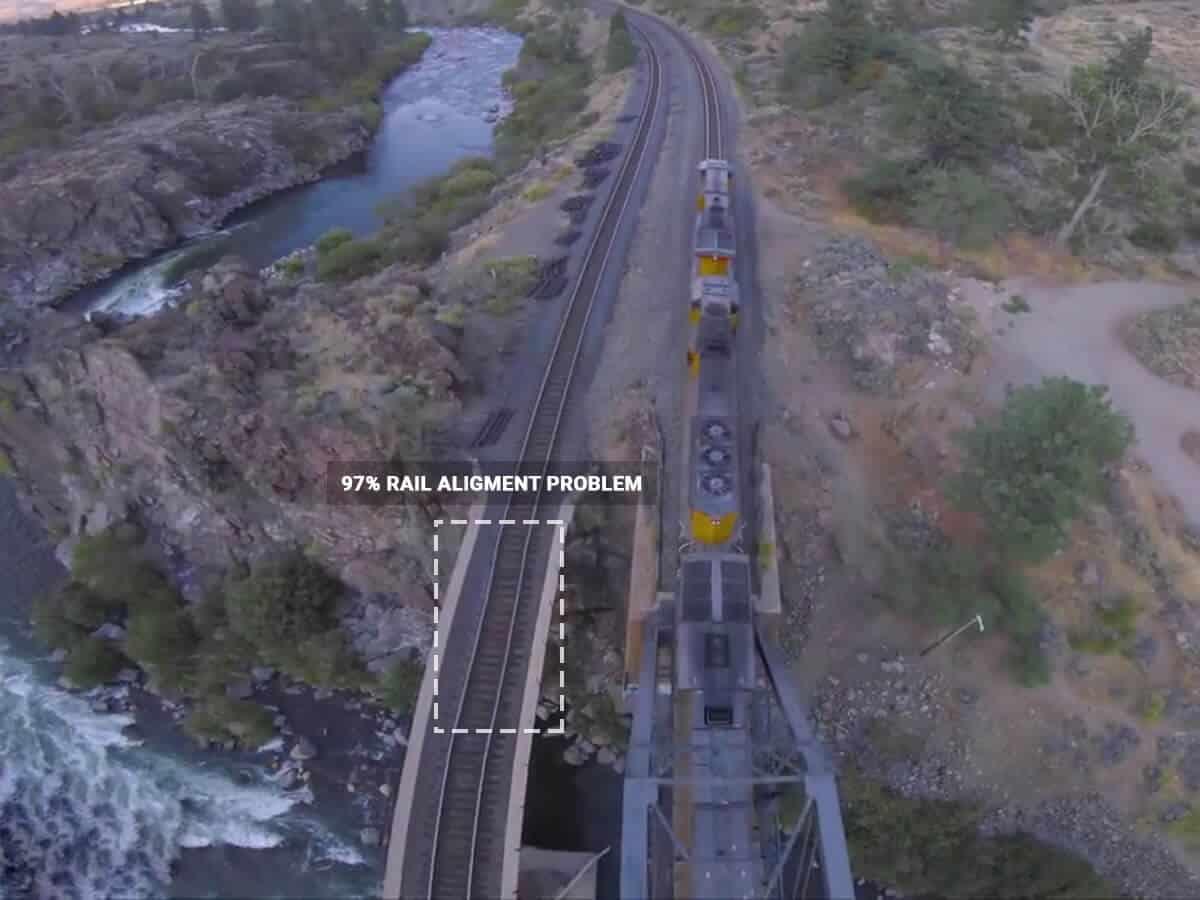 Detect broken rails
