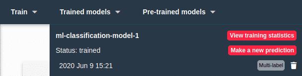 Explore model predict