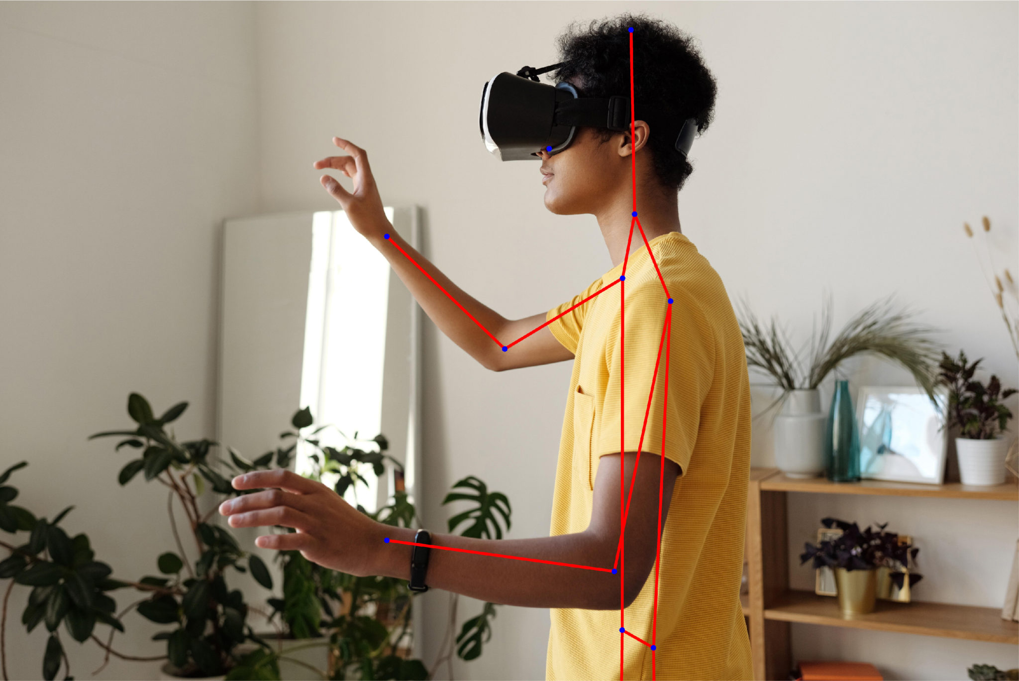 Augmented reality game development using pose estimation is ready for use with our pre-trained models
